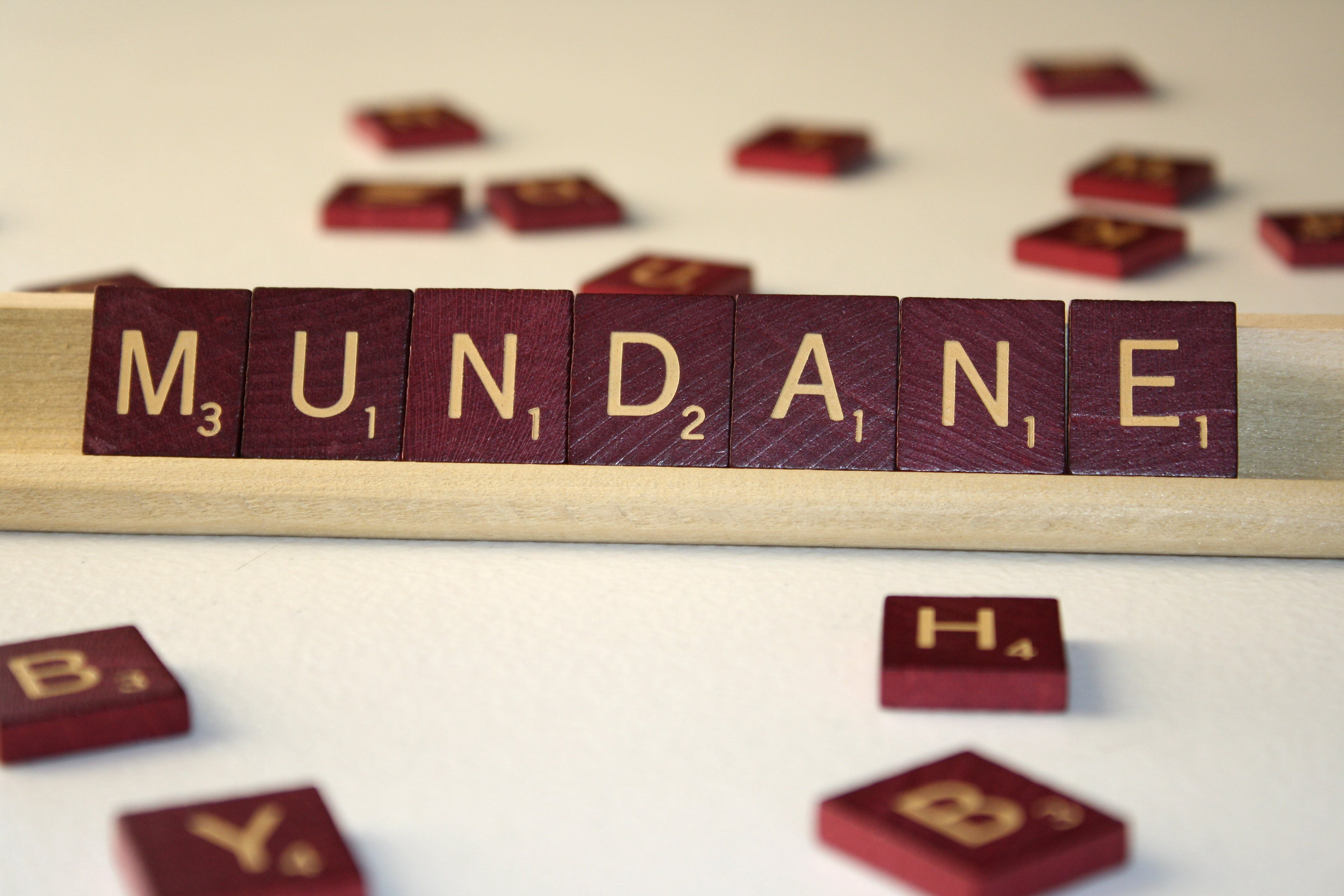Mundane. Sometimes when I write things like… | by Garrett Holle ...